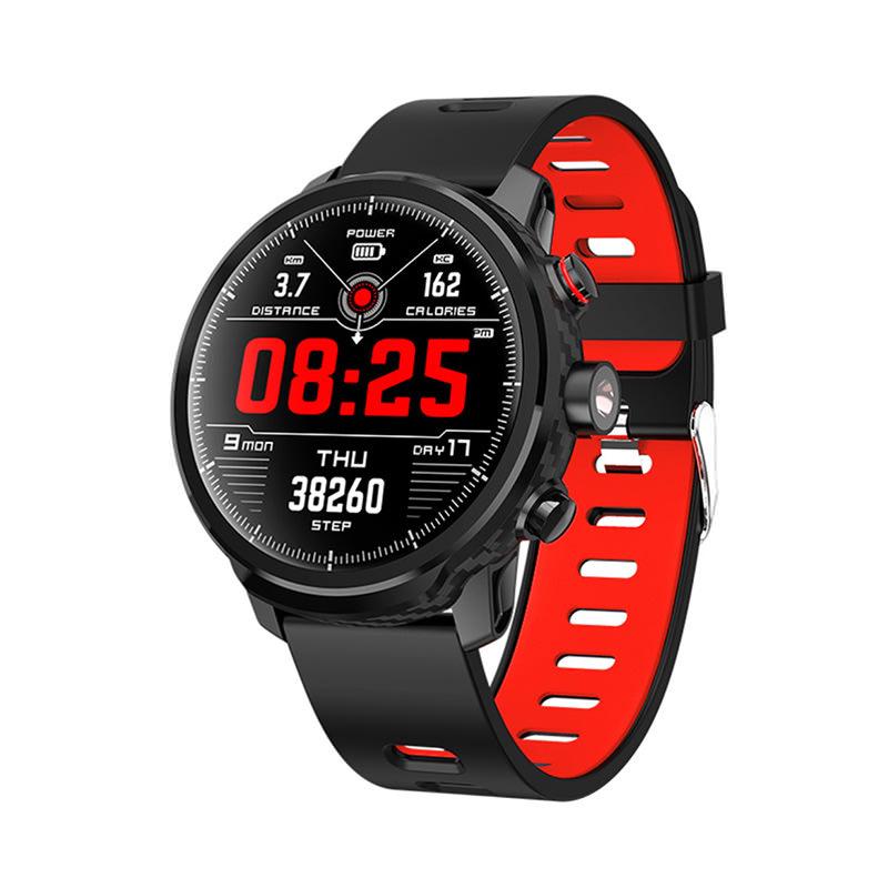Microwear L5 Smartwatch Heart Rate Monitor IP68 Waterproof фото