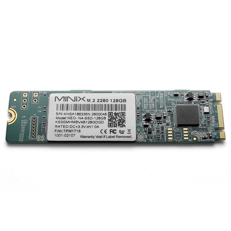 MINIX NEO N4 128GB M.2 SSD фото
