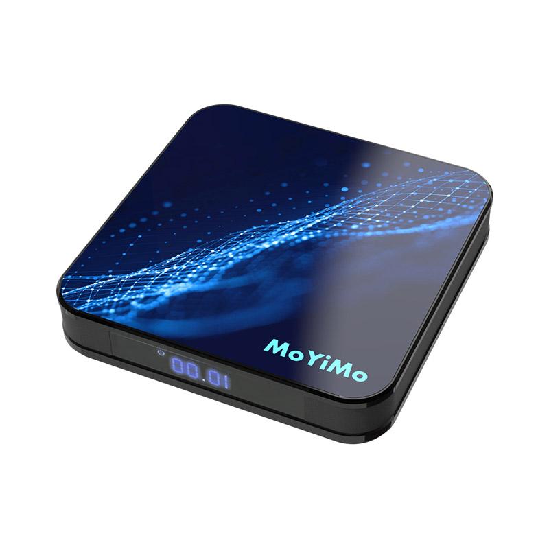 MoYiMo M5 TV BOX 4GB RAM 64GB ROM Rockchip-RK3318 Quad-core Android 9.0 фото