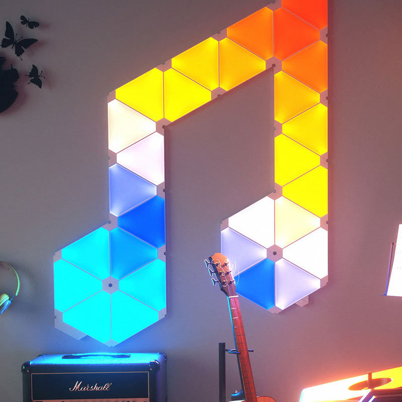 Youpin Nanoleaf Green Noble Smart Plate 4PK Updated Version фото