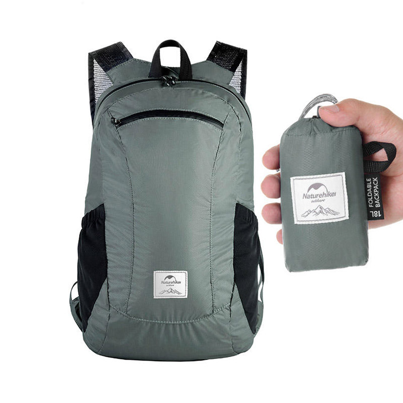 Naturehike NH17A012-B 18L Foldable Backpack Ultralight Waterproof Outdoor Travel Bag фото