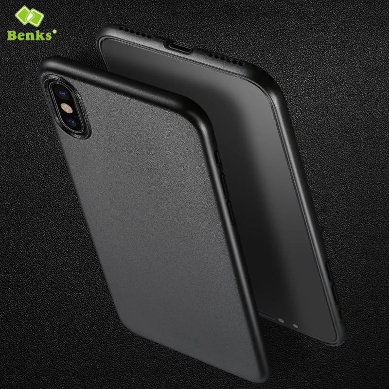 BENKS PP Matte Anti-fingerprint Case for iPhone X фото