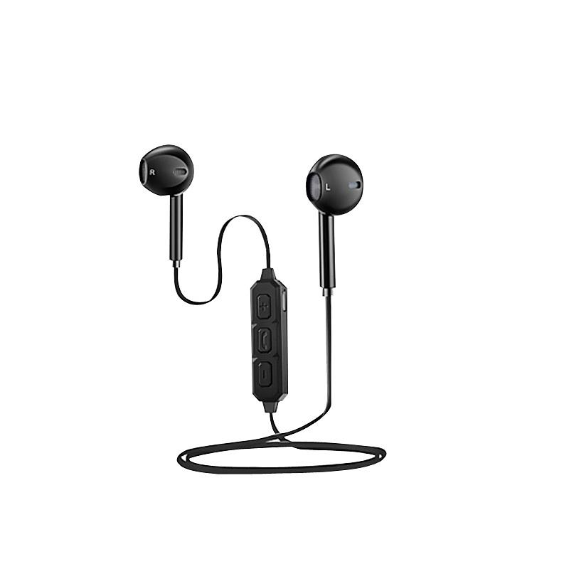 BT-66 Bluetooth Earphones Noise Reduction APT-X Dual Channel Stereo фото
