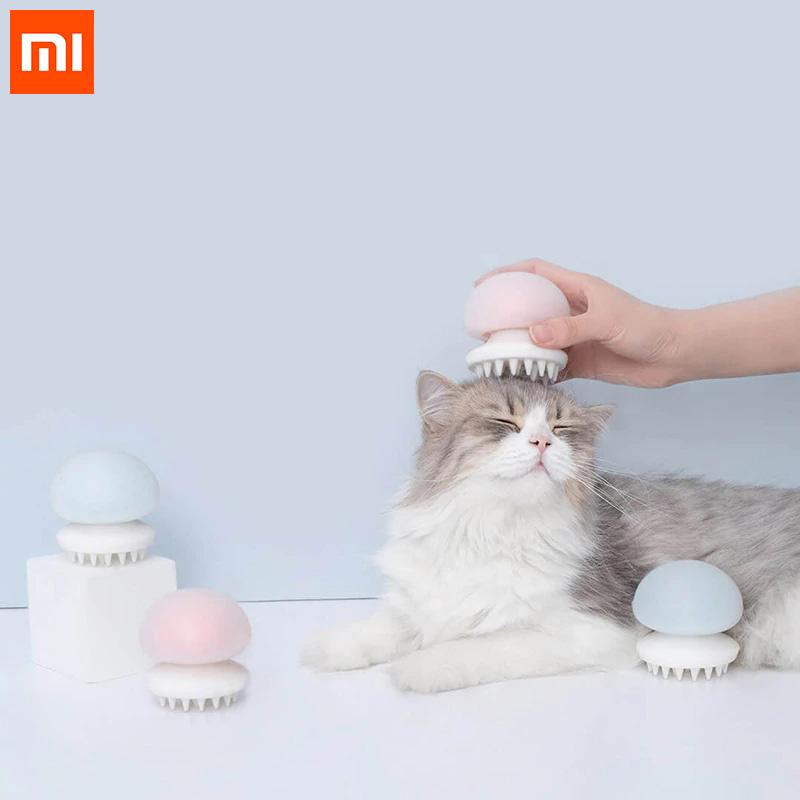 Xiaomi Mijia Furrytail Jellyfish Pet Massager Comb Pet Brush Negative Lon Anti-static for Cat Hair фото