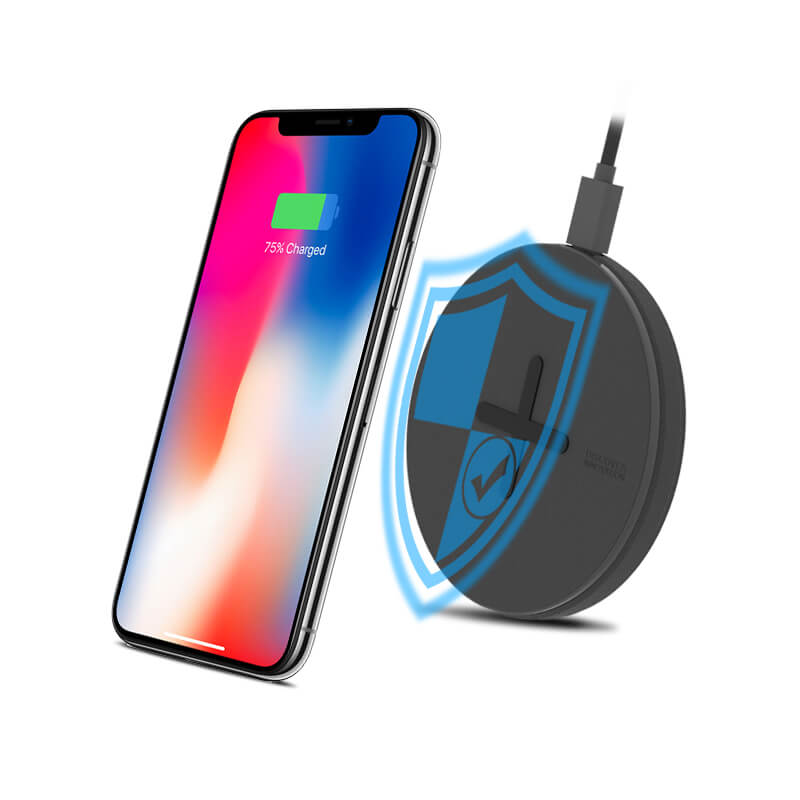 NILLKIN Button 10W fast Qi Wireless Charger for iPhone Xs Xs Max XR фото