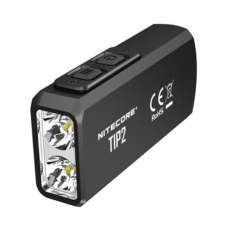 Nitecore TIP2 720 Lumens Dual-core Magnetic Keychain Flashlight фото