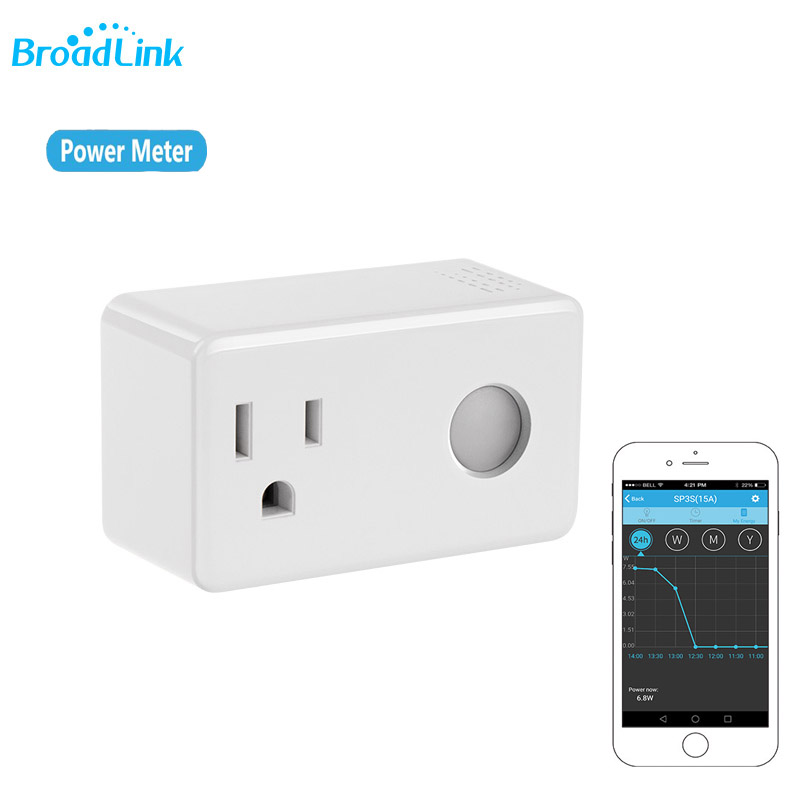 Broadlink SP3S WiFi Smart Socket Plug фото