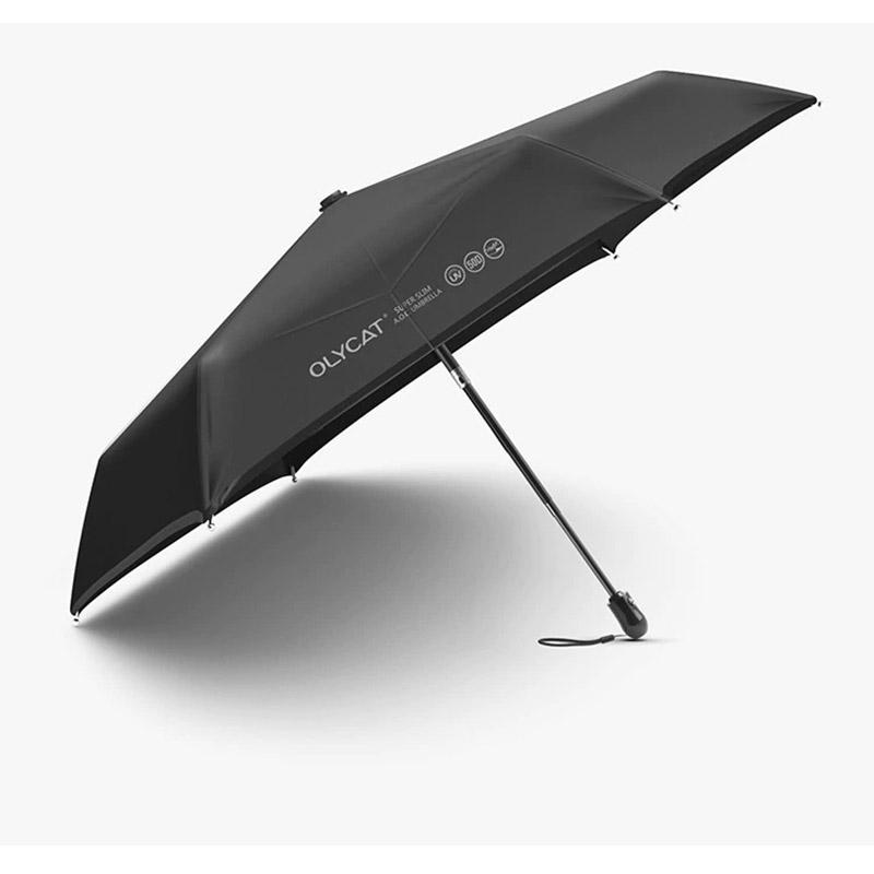 OLYCAT OC332 Ultralight Automatic Umbrella Rain Sunscreen Anti UV Travel Parasol 6K Windproof
