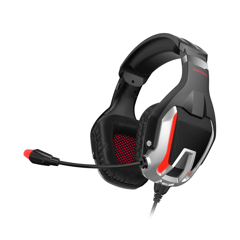 ONIKUMA K12 Gaming Headset Stereo Bass Surround with Mic for PS4 Xbox One iPad фото