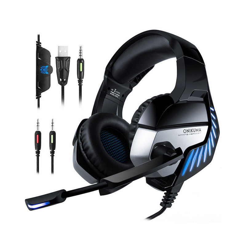 ONIKUMA K5 Pro Hi-Fi Gaming Headphones 7.1 Virtual Stereo Earphones with Mic for PS4 PC Xbox One фото