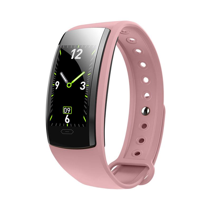 QS90 PLUS Bluetooth Smart Bracelet Blood Pressure Heart Rate Monitor фото