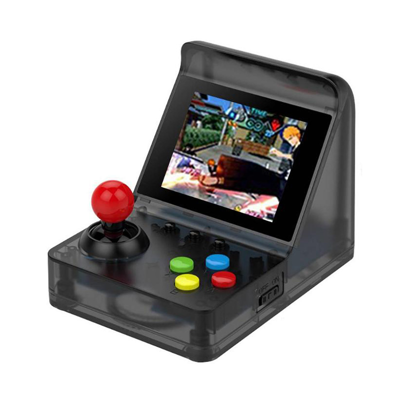 POWKIDDY A7 Mini Handheld Arcade Video Game Console Built-in 520 фото