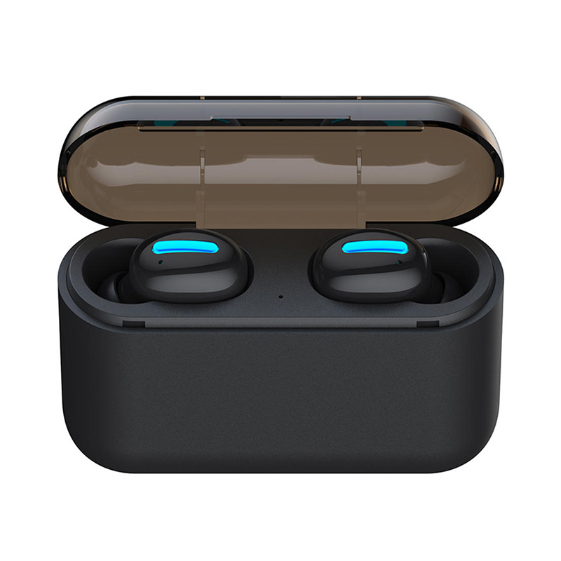 Q32 Stereo Bluetooth 5.0 TWS Earphones With 2600mAh Power Bank Charging Case фото