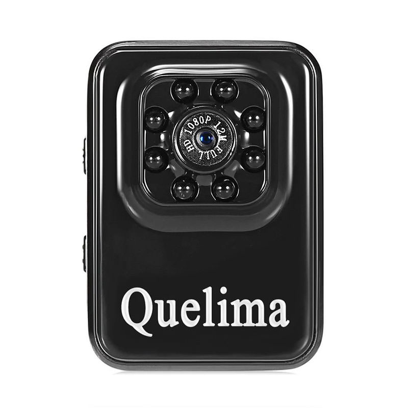 Quelima R3 8LED Night Vision Mini Camera HD 1080P Digital Video Recorder