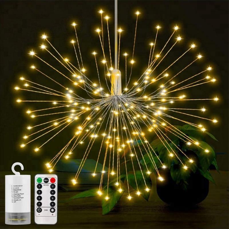 RGB Firework LED String Lights фото