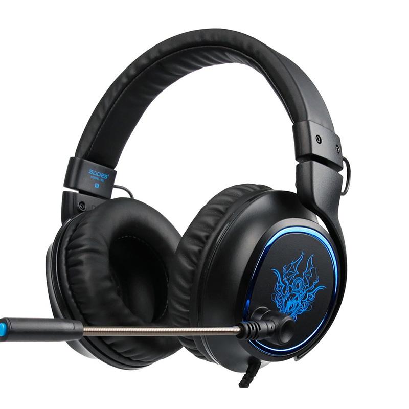SADES R5 Stereo Gaming Headset фото