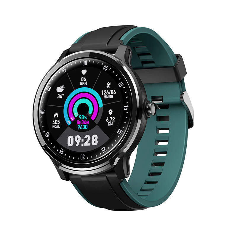 SN80 Bluetooth Smartwatch 3D UI 1.3inch IPS Full Touch Screen Heart Rate Blood Pressure Monitor