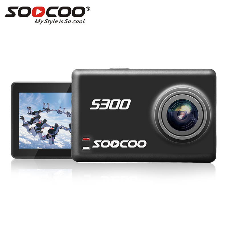 SOOCOO S300 4K 30FPS Action Camera Hi3559V100 + IMX377 Sensor with External Mic фото