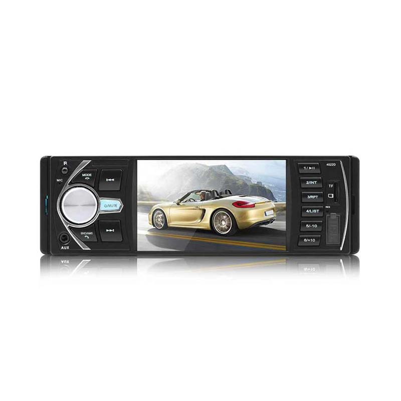 SWM-4022D Car Radio Stereo Audio MP5 Player Bluetooth DC 12V FM Receiver LCD Display Digital Card Remote Control