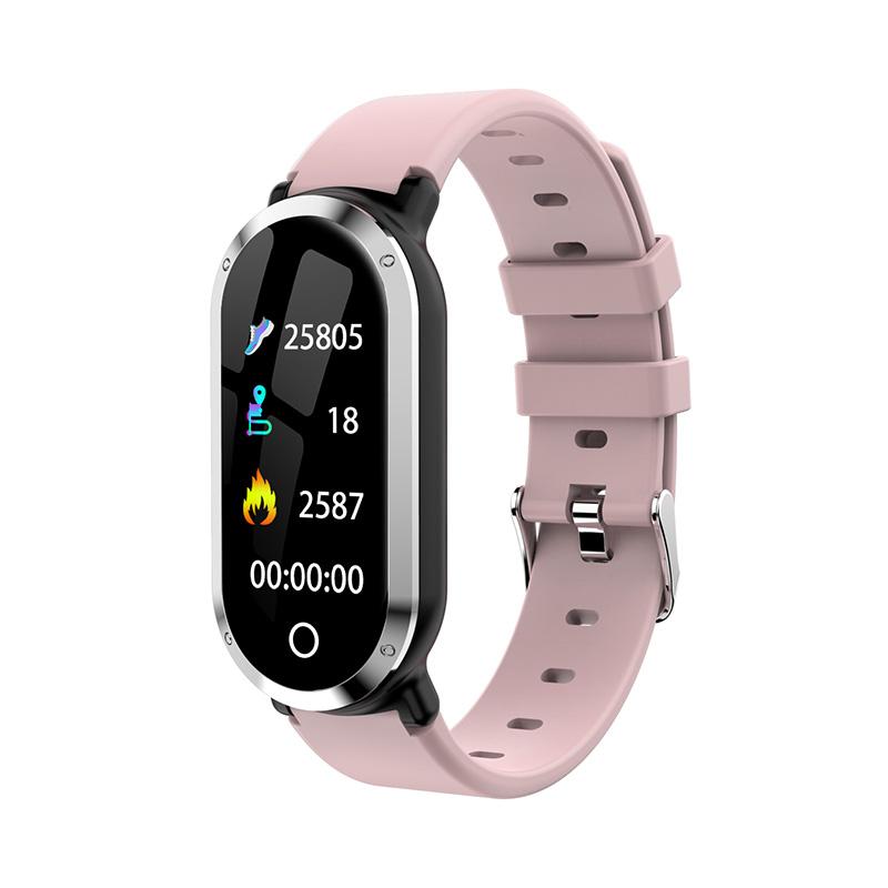 T1 Smart Wristband Blood Pressure Monitor Fitness Tracker фото