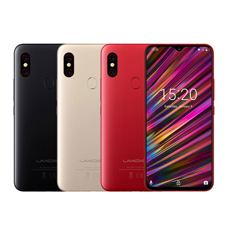 UMIDIGI F1 4G Smartphone 4GB RAM 128GB ROM Global Version фото