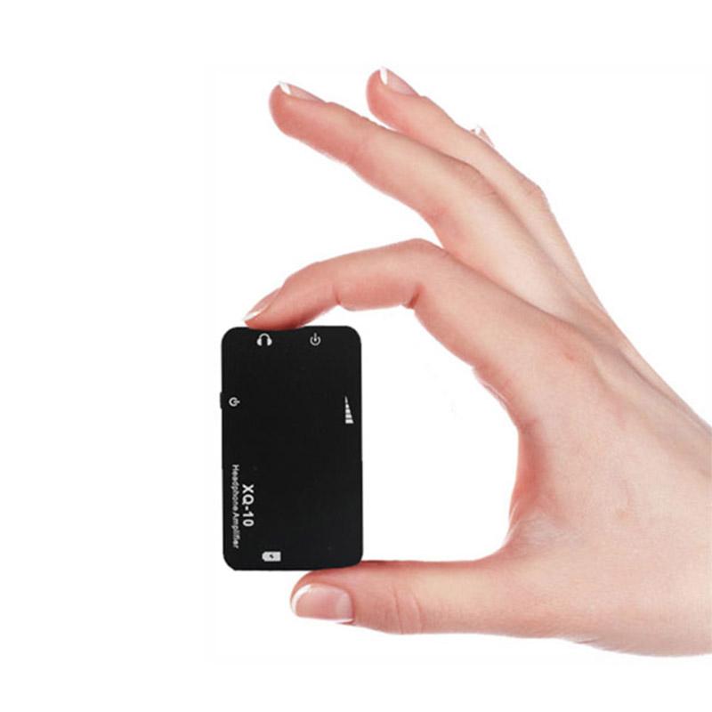 XDUOO XQ-10 Mini Portable Headphone Amplifier 3.5mm Stereo Jack High Quality Sound
