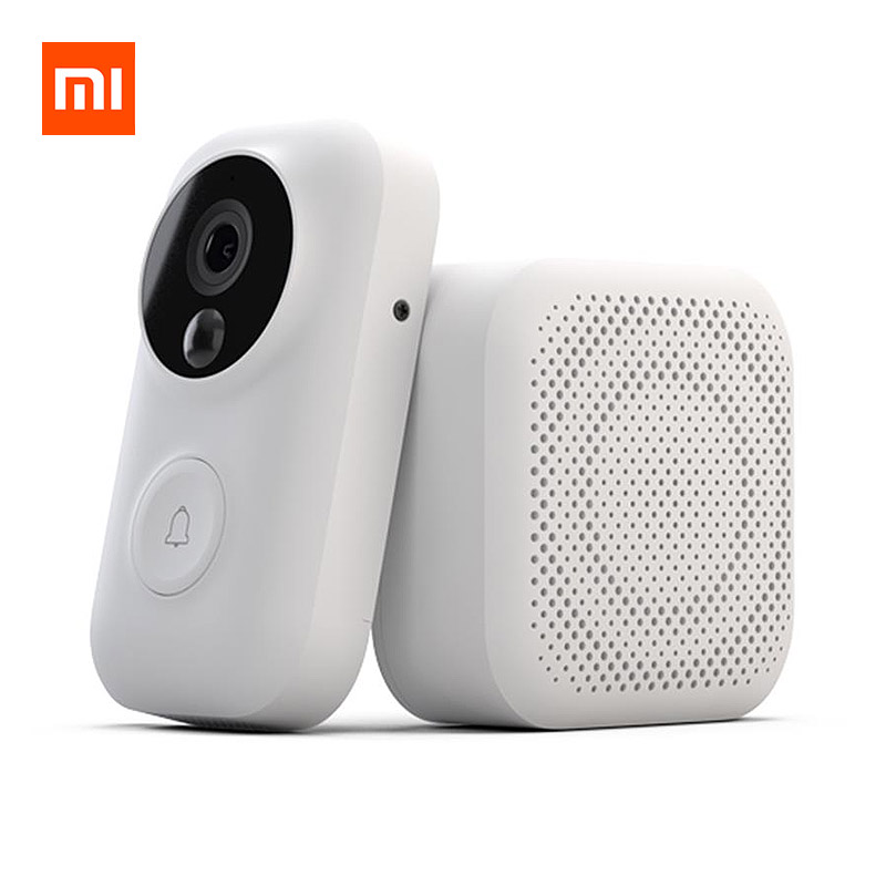 Xiaomi AI Face Identification 720P IR Night Vision Video Doorbell Set фото