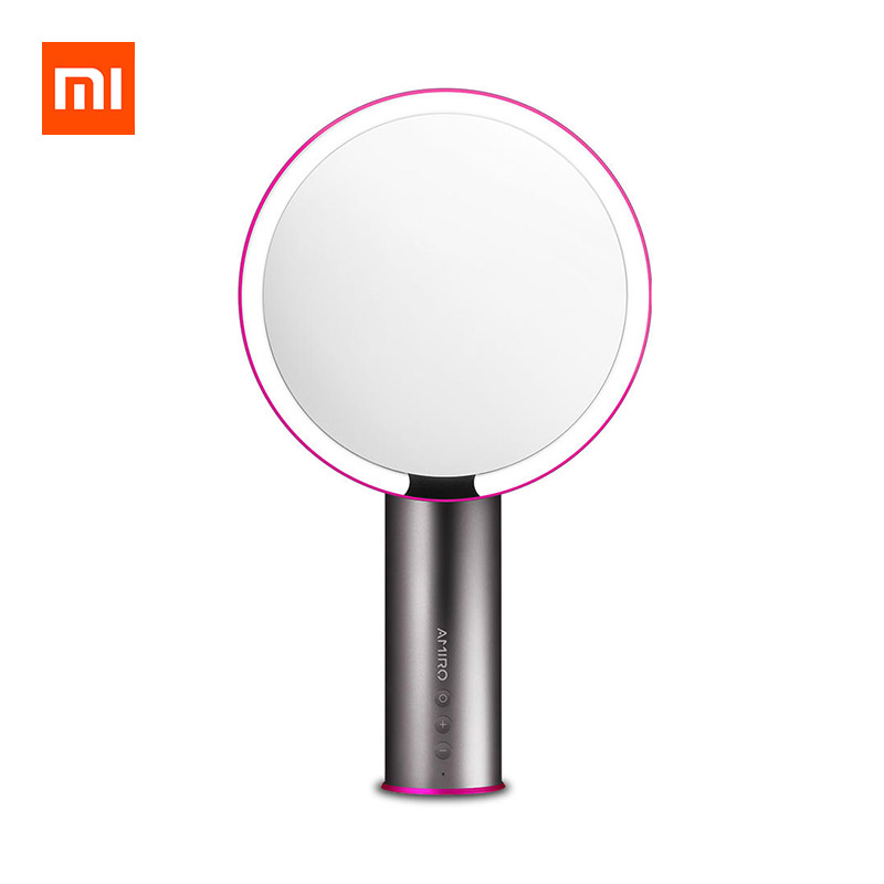 XIAOMI AMIRO AML005B Lighting Makeup Mirror Rechargeable HD Daylight Mirror фото