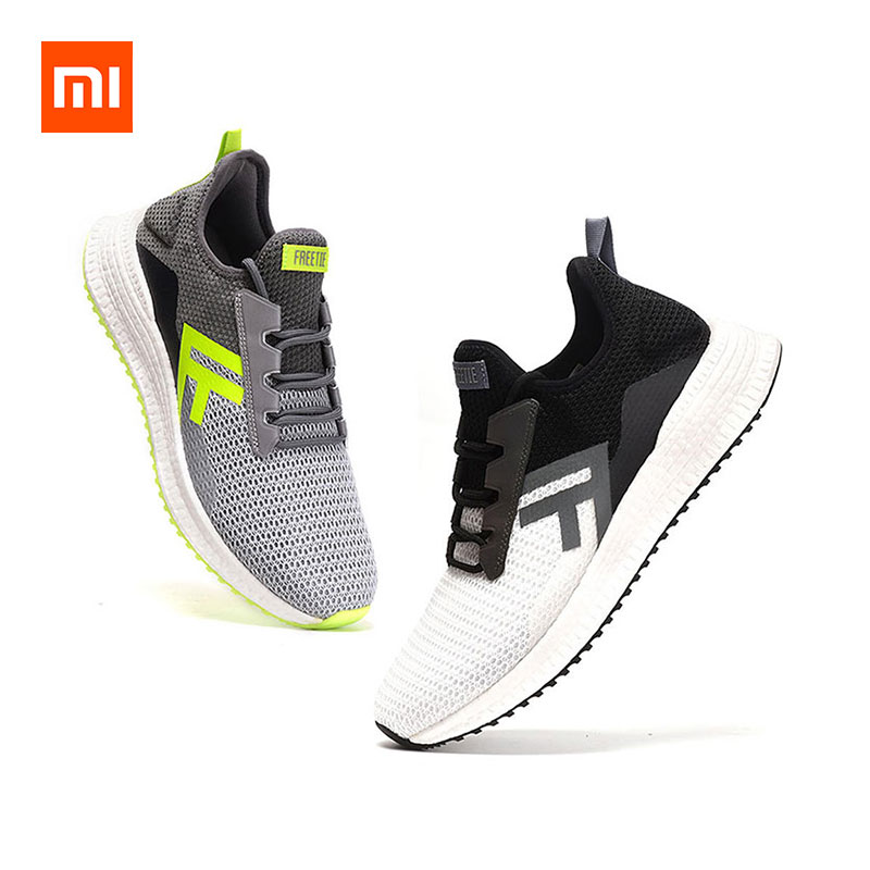 Xiaomi FREETIE Cross Sneakers ETPU Ultralight Shock Absorption Non-slip Sports Running Shoes фото