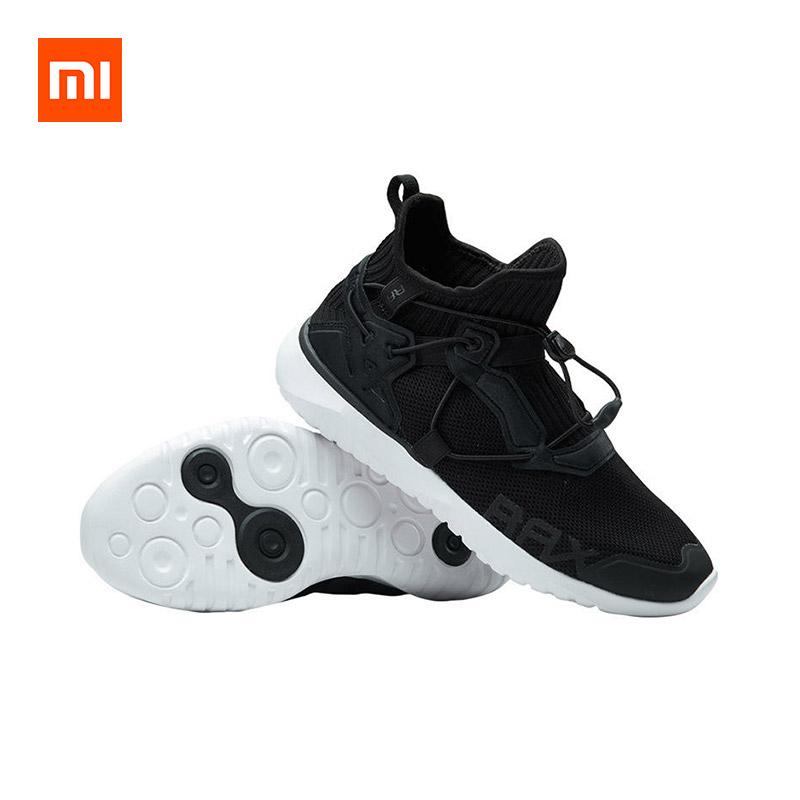 Xiaomi Rax Breathable Flyknit Ultralight Men Running Shoes Shock Absorption фото