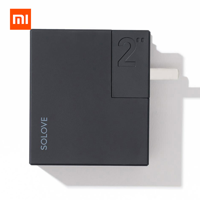 Xiaomi SOLOVE W2 2 In 1 Charger 5000mAh Power Bank For Camping Travel фото