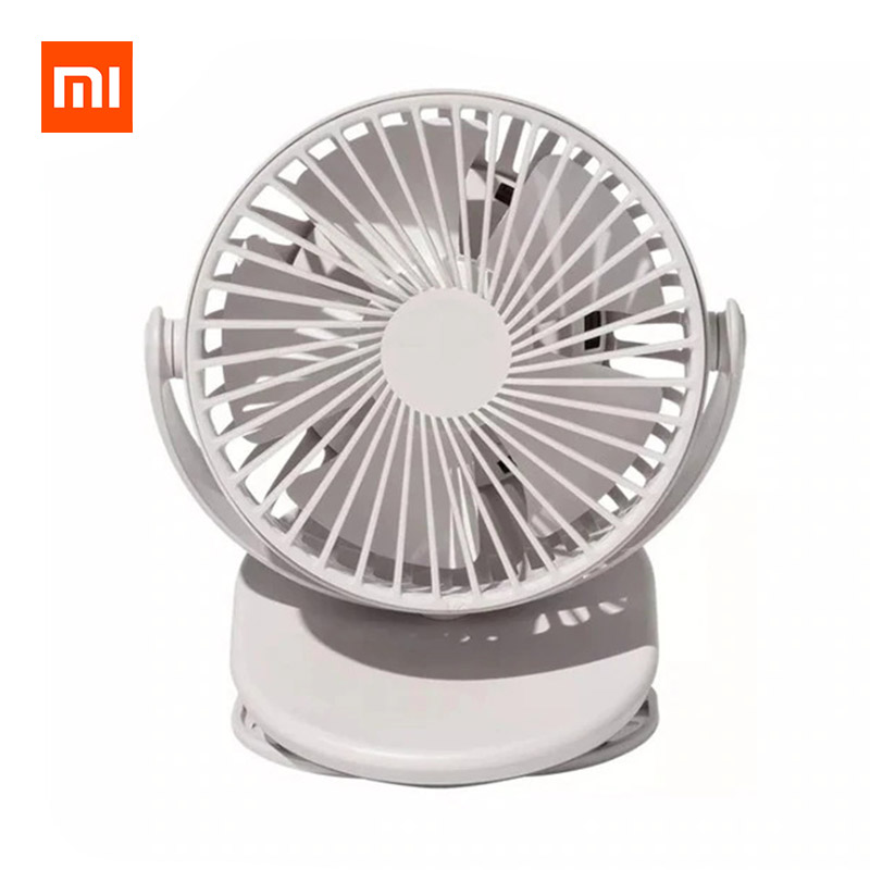 Xiaomi SOLOVE F3 Clip-on Mini Fan 360 Degree Rotating 3 Speeds Adjustable фото