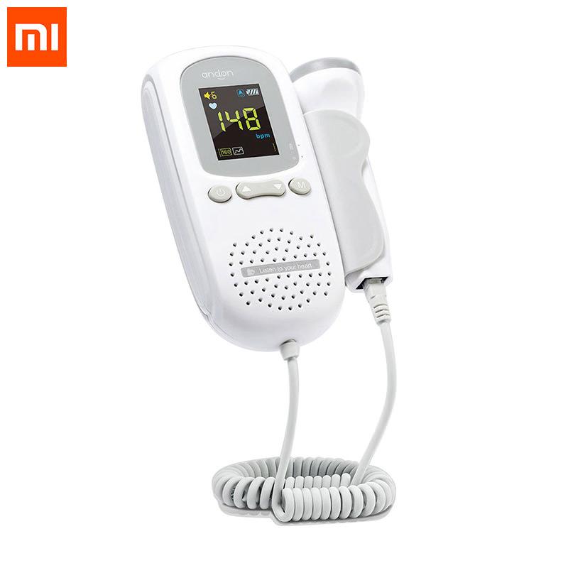 Xiaomi Andon Ultrasonic Fetal Doppler Heartbeat Detector
