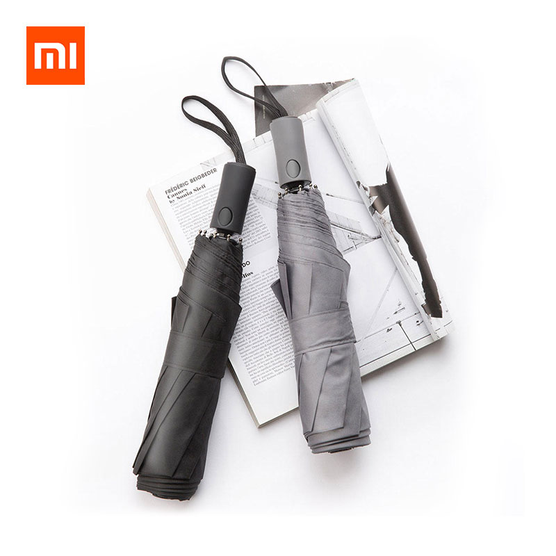 Xiaomi Automatic Folding Umbrella Portable 2-3 People UV Windproof 124cm UPF50+ фото