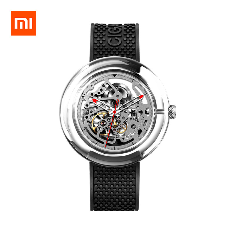 Xiaomi CIGA Design T Series Mechanical Watch Fully Transparent Watch Case фото