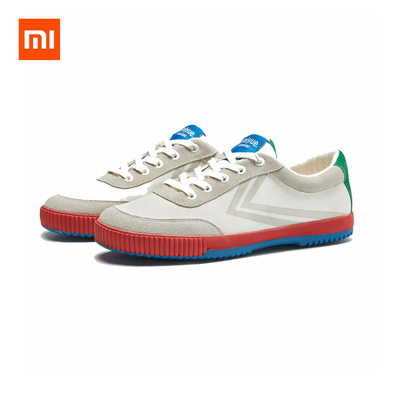 Xiaomi Feiyue Men Sneakers Canvas Suede Casual Shoes фото