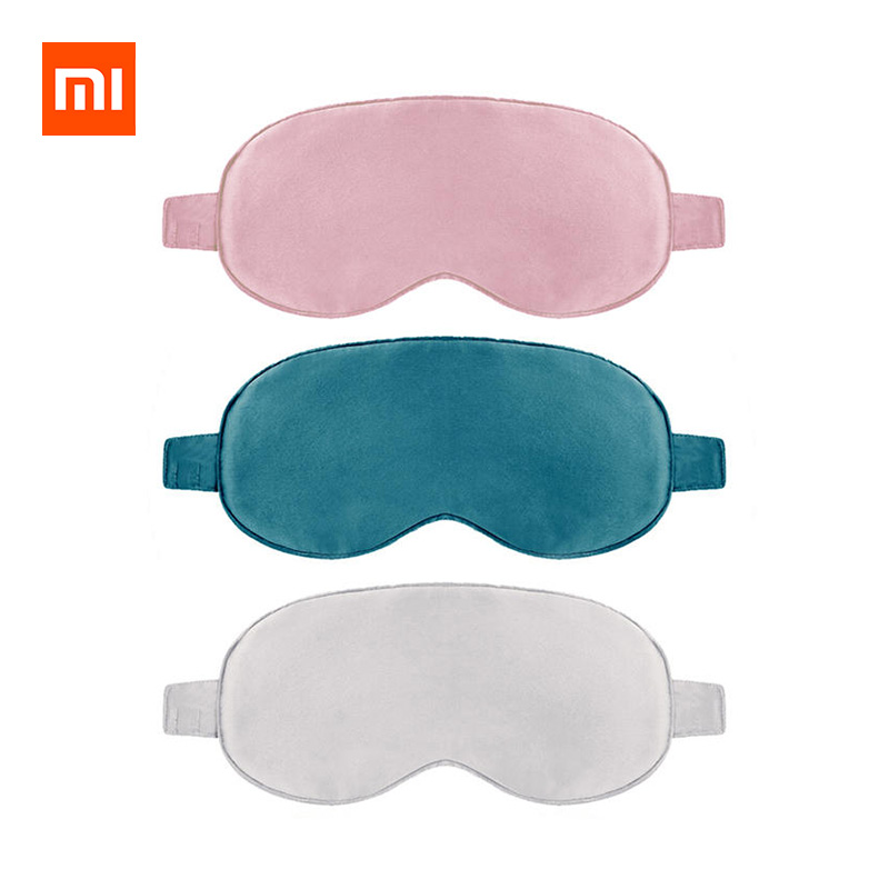 Xiaomi Mijia Heated Silk Eye Mask Fatigue Relief Eye Massager Three Temperature Control фото