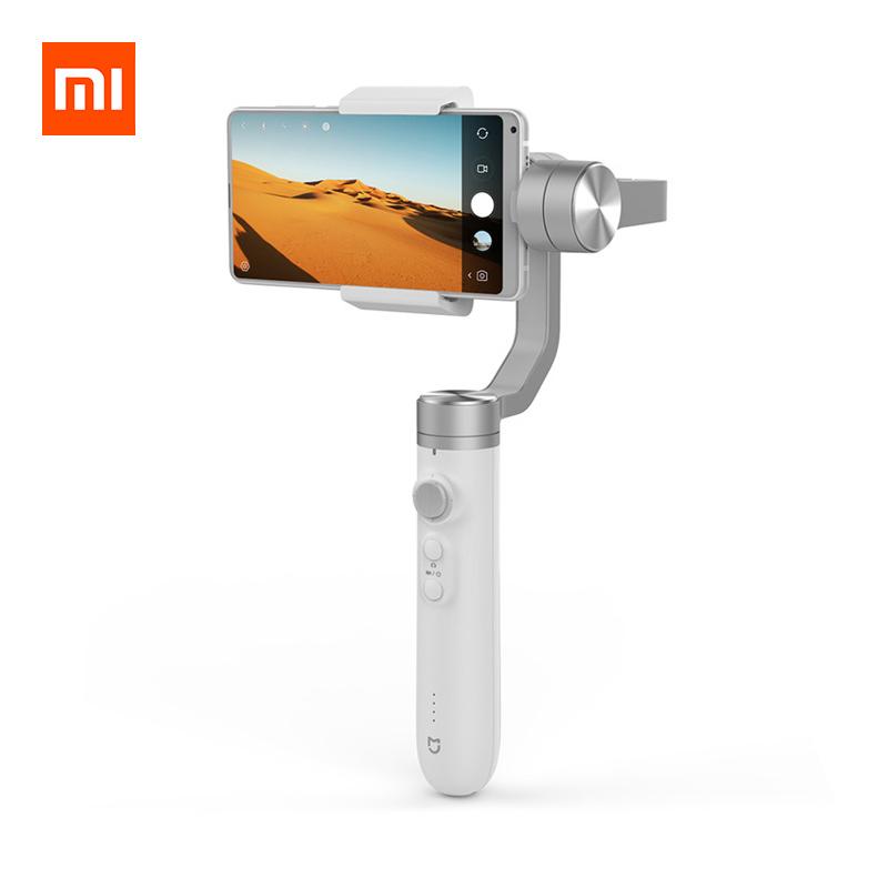 Купить со скидкой Xiaomi Mijia SJYT01FM Handheld Gimbal Stabilizer 3 Axis