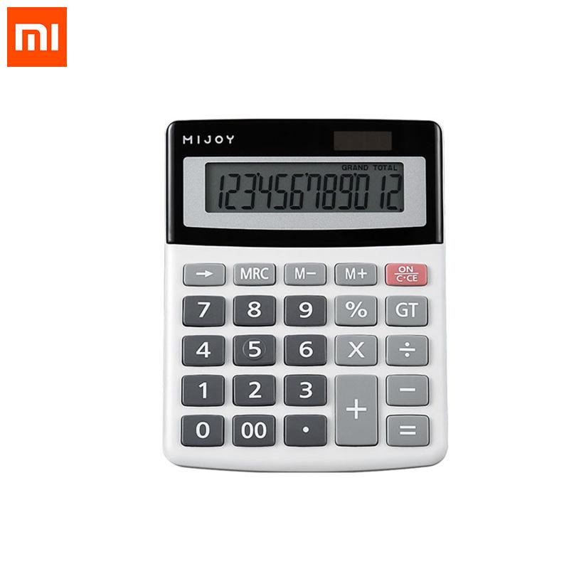 Xiaomi Mijoy Calculator Calculate Solar 2 in1 Powered 12 Digit