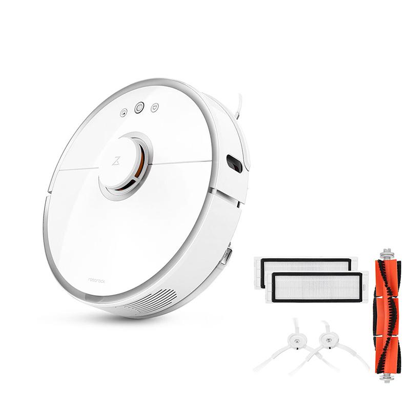 Xiaomi Roborock S5 Smart Robot Vacuum Cleaner-2nd Gen International Version & Cleaner Accessories фото