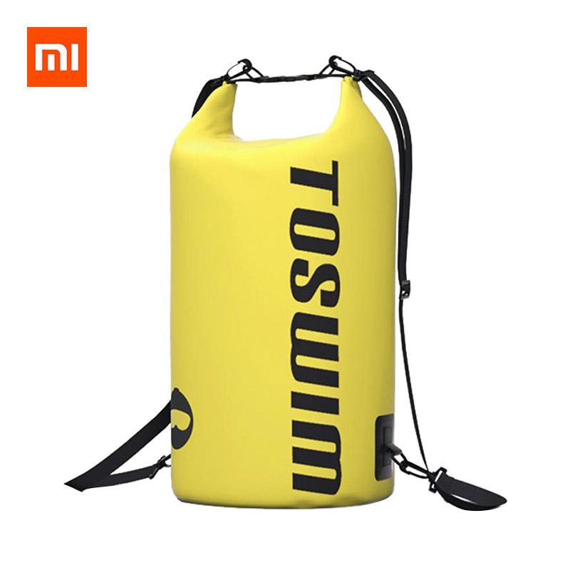 Xiaomi TOSWIM 15L Waterproof Shoulder Bucket Backpack Adjustable Size