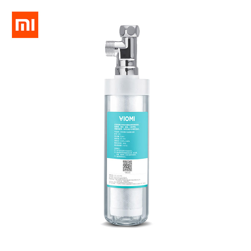 XIAOMI VIOMI VF3 3 In 1 Pre-filter Pipe Connection Water Filter Kitchen Bathroom Transparent Filter фото