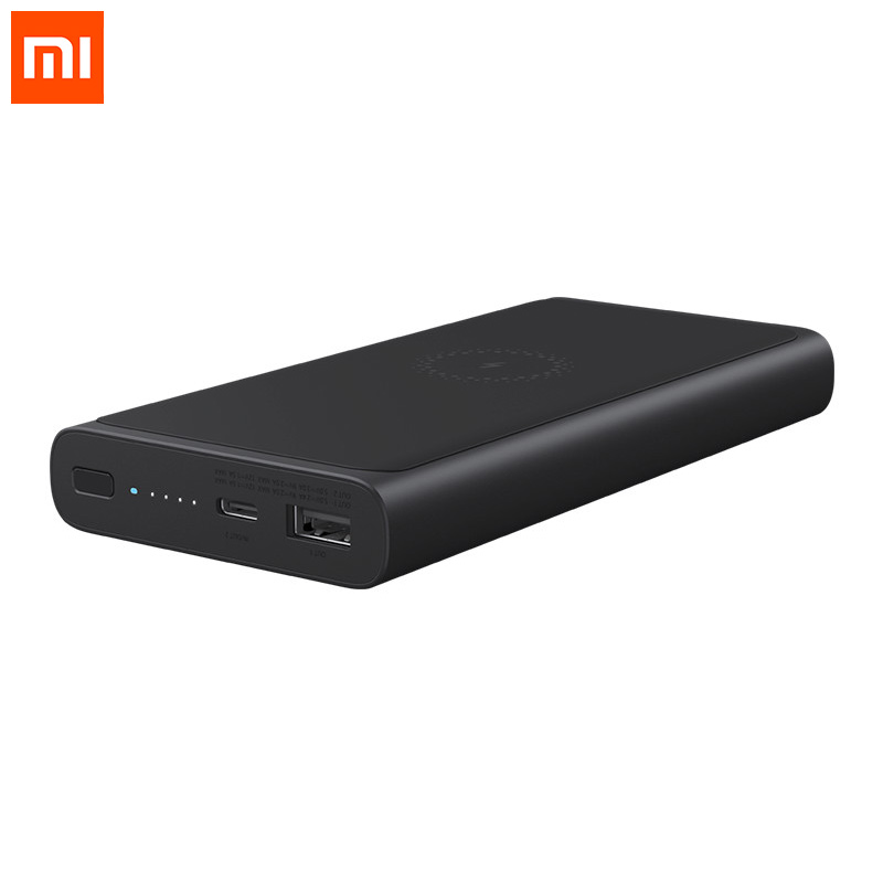 Xiaomi PLM11ZM Wireless Charger Power Bank 10000mAh фото