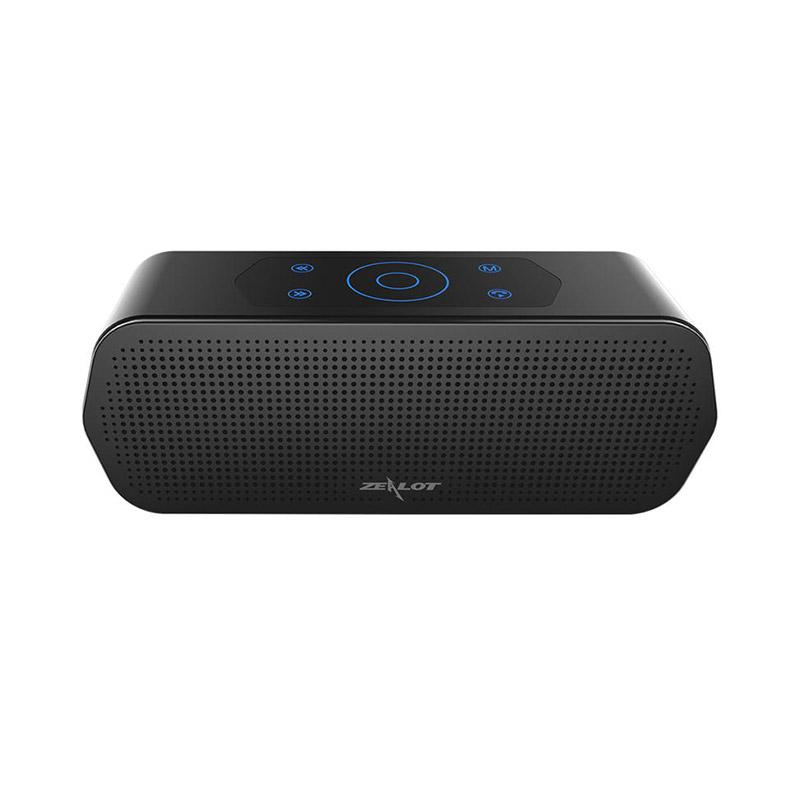 ZEALOT S20 Wireless Bluetooth Speaker Touch Control IPX5 Waterproof 3D Surround Bass Stereo фото
