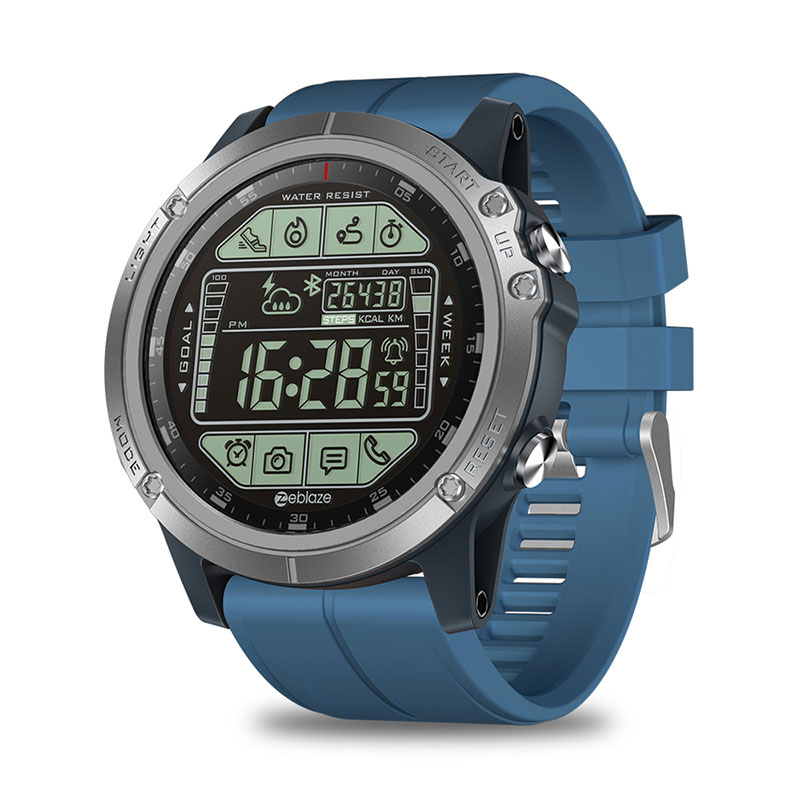 Zeblaze VIBE 3S Outdoor Sport Smartwatch 1.24inch FSTN Full View Display