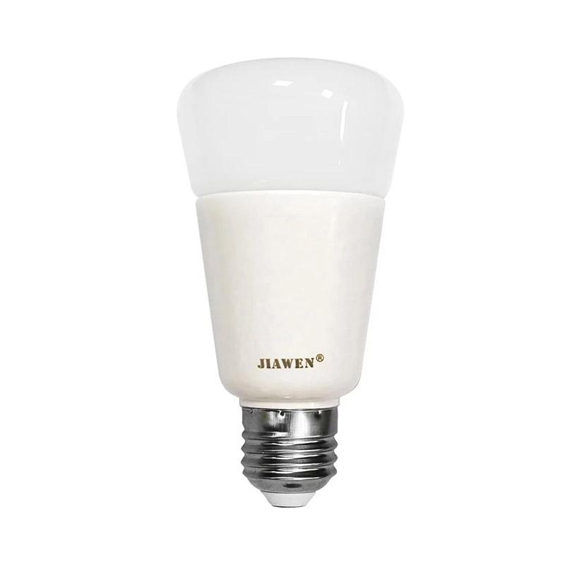 JIAWEN E27/E26 9W Smart 750LM RGBW Bulb Wireless APP Control Working with Zigbee Hub AC 100 - 240V фото