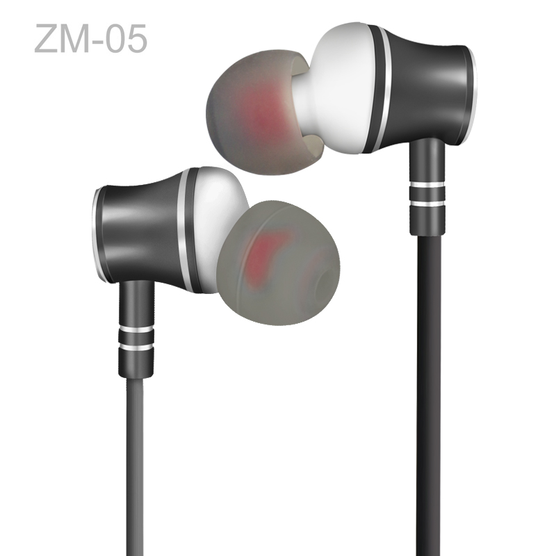 Zermie EMB-ZM-05 Deep Bass Stereo Metal Earphone