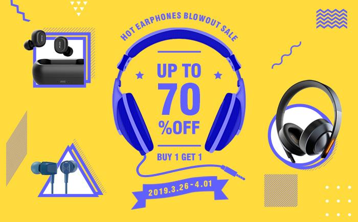 GearVita reventones de auriculares venta - hasta un 70% de descuento Earphones-s