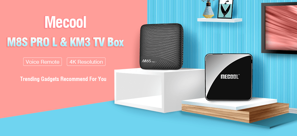 Mecool TV Box Promotion from $19 99 On GearVita