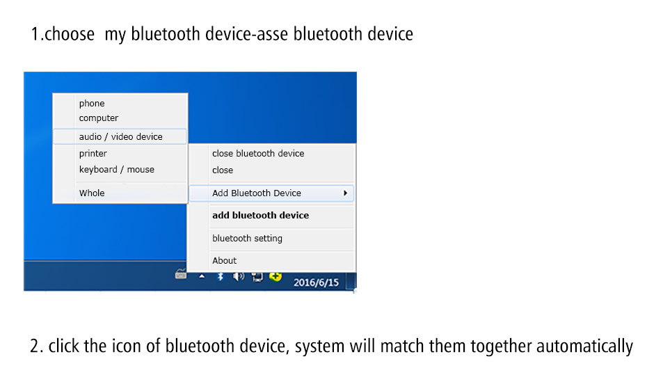portable pc bluetooth adapter